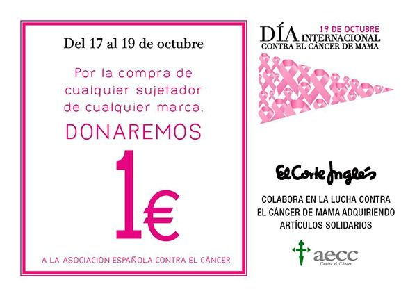 ff879c0cb 21 Acciones de Moda Solidaria para luchar contra el Cáncer de mama ...