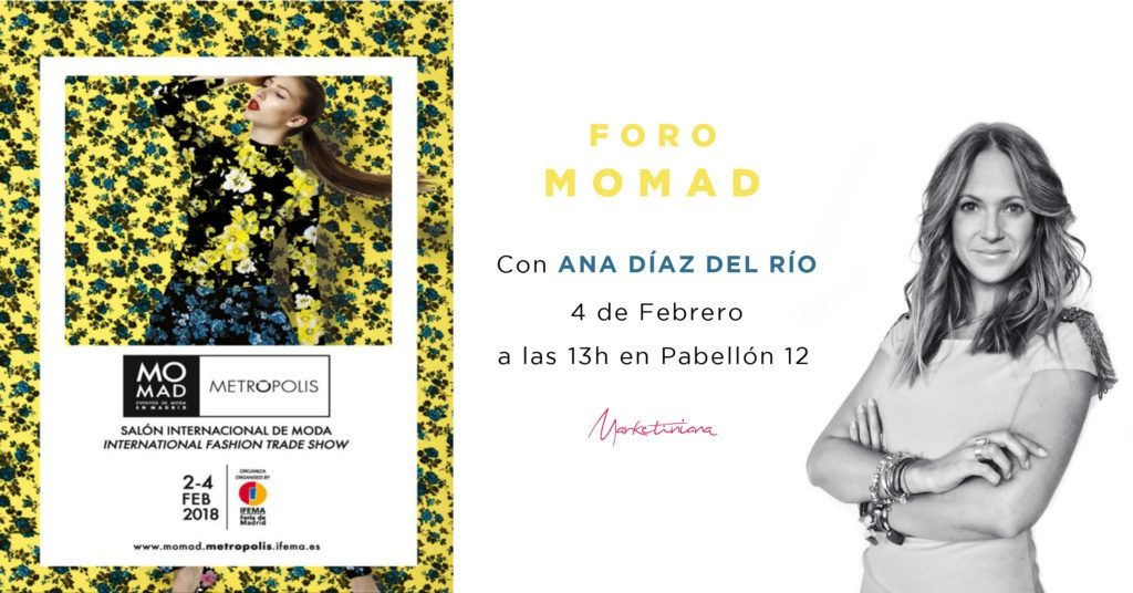 Ana Díaz del Río en MOMAD FEB 2018