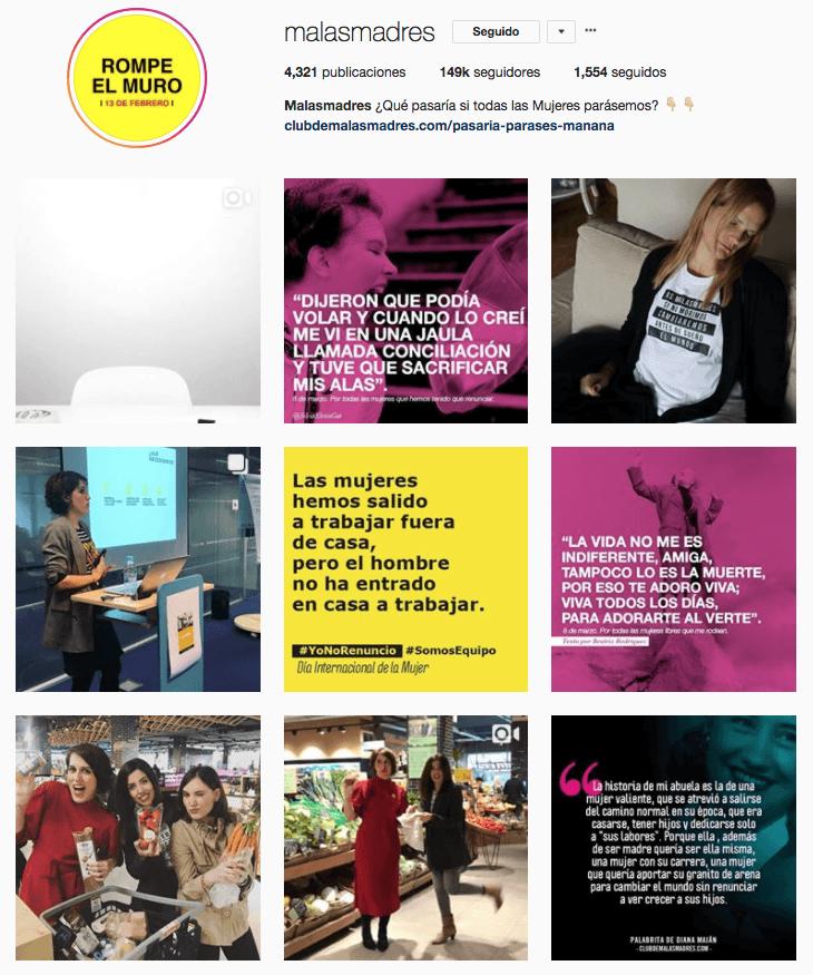 Cómo publicar en Instagram-marketiniana-MALASMADRES