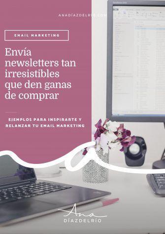 Newsletters en Moda-anadiazdelrio.com